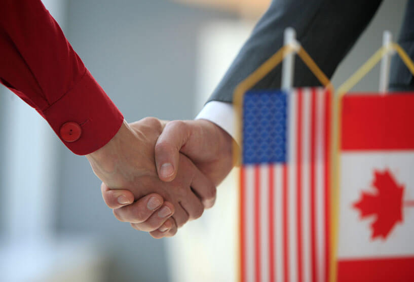 We have helped hundreds of Canada/US clients over the years